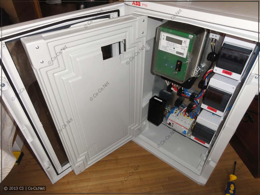 Пробуем открытть все двери шкафа и заценить удобство