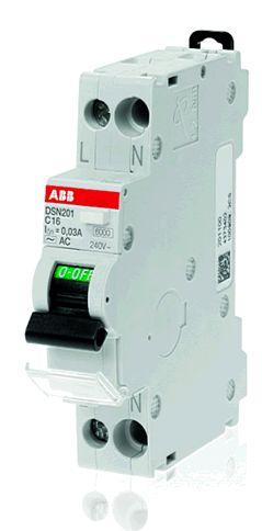 ABB: Электронные дифавтоматы на 1 модуль (скриншот каталога)