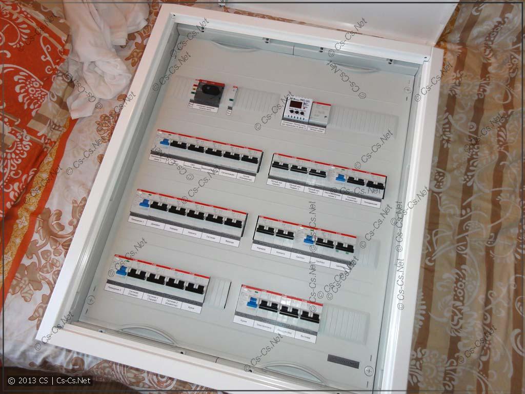 Большой комплект щитков для Питера (Первый этаж)