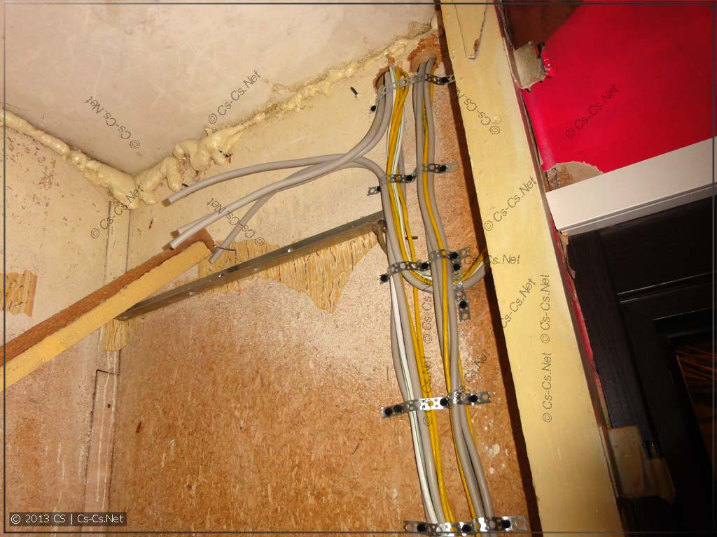 Встроенный шкаф претерпел дикий ужас