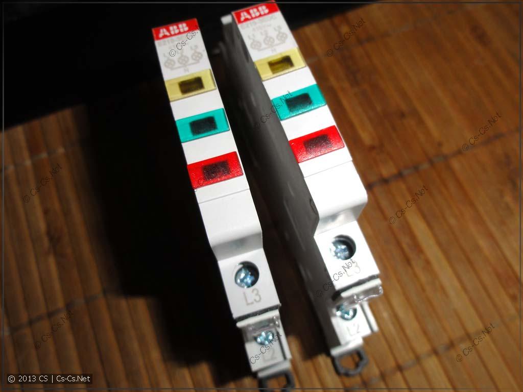Новая индикаторная лампочка E219-3EDC с порядком цветов ЖЗК (ABC)