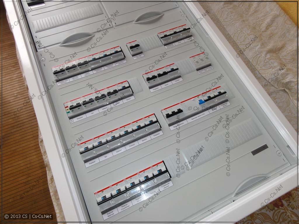 Мега-Щиток для МЭИшника в Реутово: Подписали автоматы и дифы