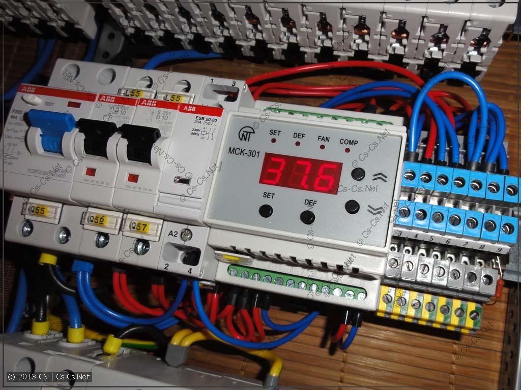 Щиток для товарища с Перово: Контроллер температуры