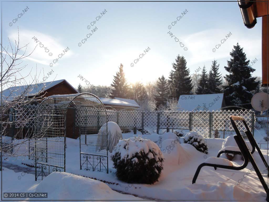 Морозным утром субботы выезжаем на природу... исправлять ПРОВОДКУ!