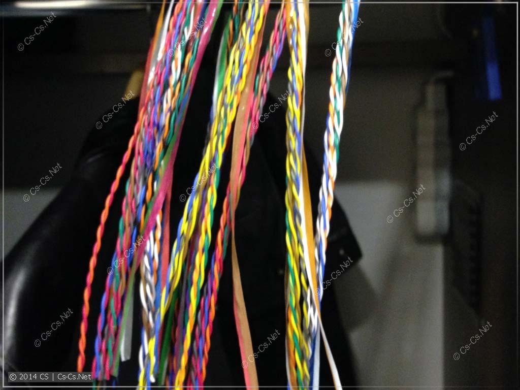 Группы многопарного кабеля