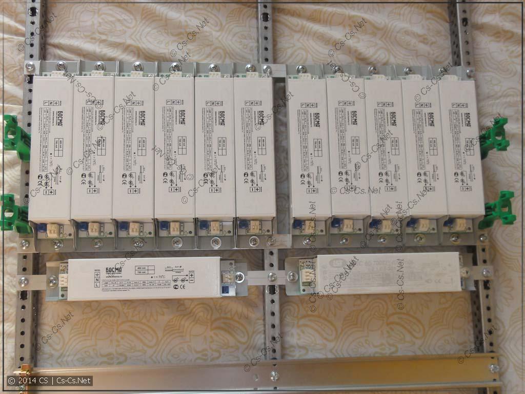 Установить мутные LED-драйвера в щиток? Не вопрос!