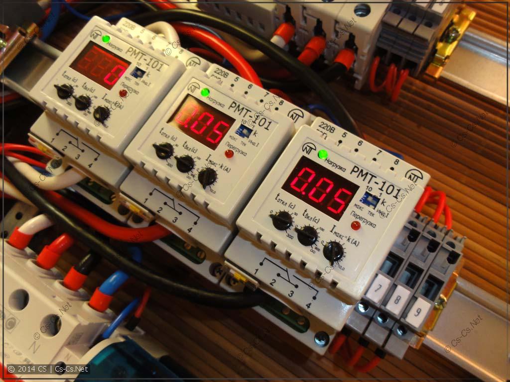 Измерение потребляемого тока: ставим реле РМТ-101