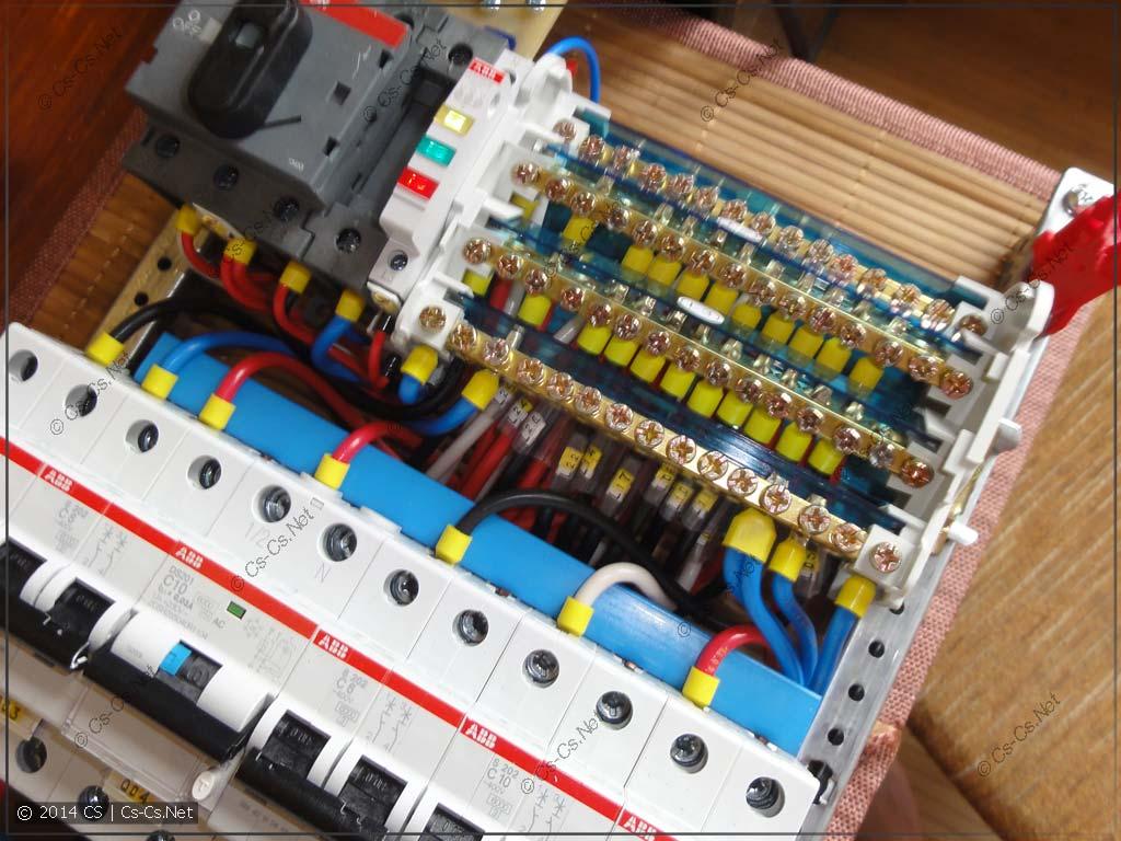Щиток Павшино 380: Кросс-модуль