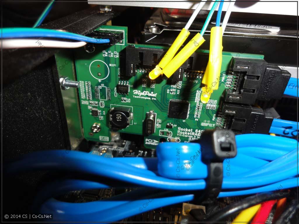 Светодиоды для контроллера HighPoint Rocket 640L