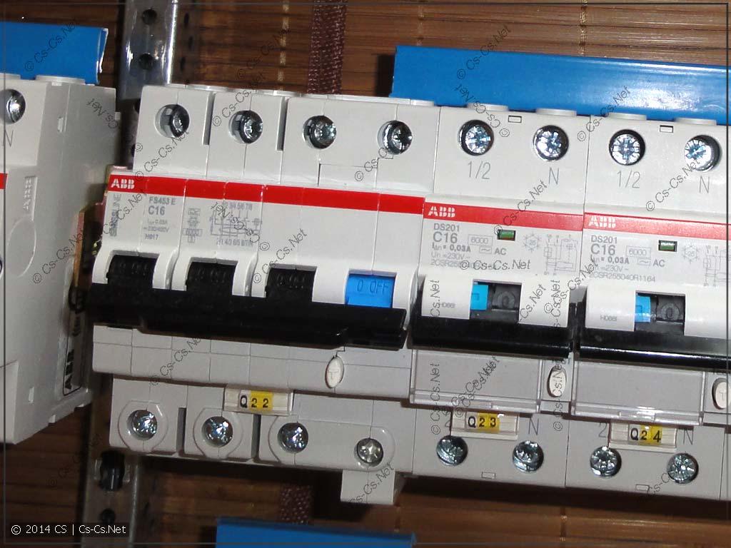 Новый дифавтомат ABB FS 453E: отлично ставится в ряд с обычными дифами