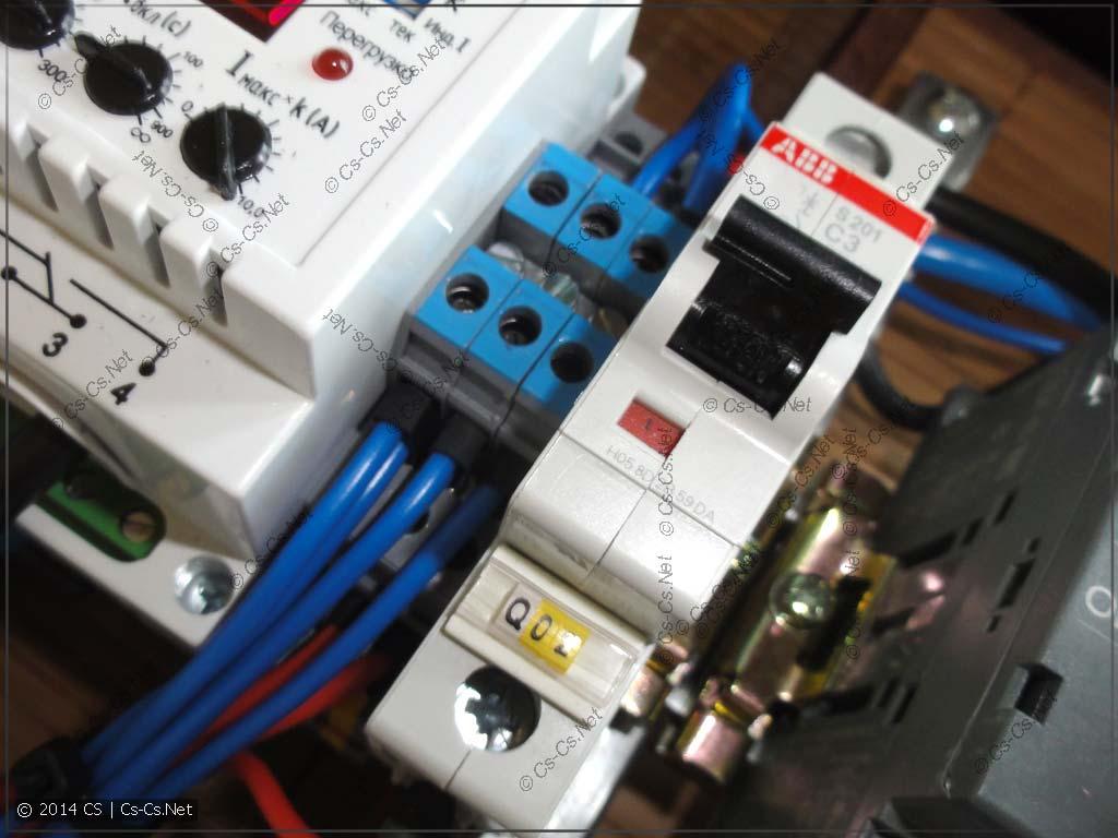 Маленький кросс-модуль из клемм D4/6.NLP и перемычек