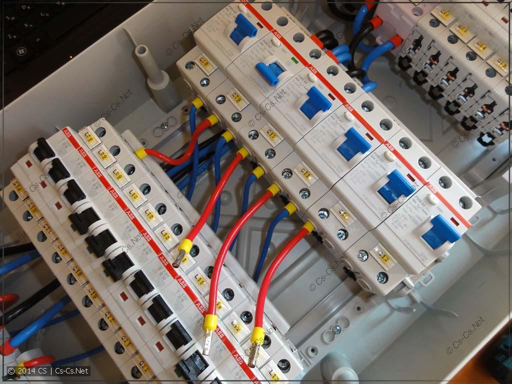 """Подключаем и """"выключаем"""" УЗО, которые уже подключены"""
