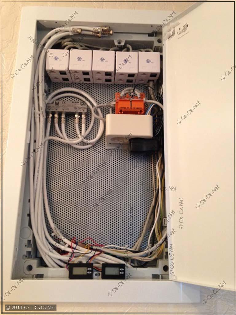 Щиток слаботочки на базе UK530MV