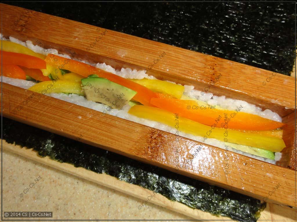 Тестируем начинку без канала - кладём напрямую