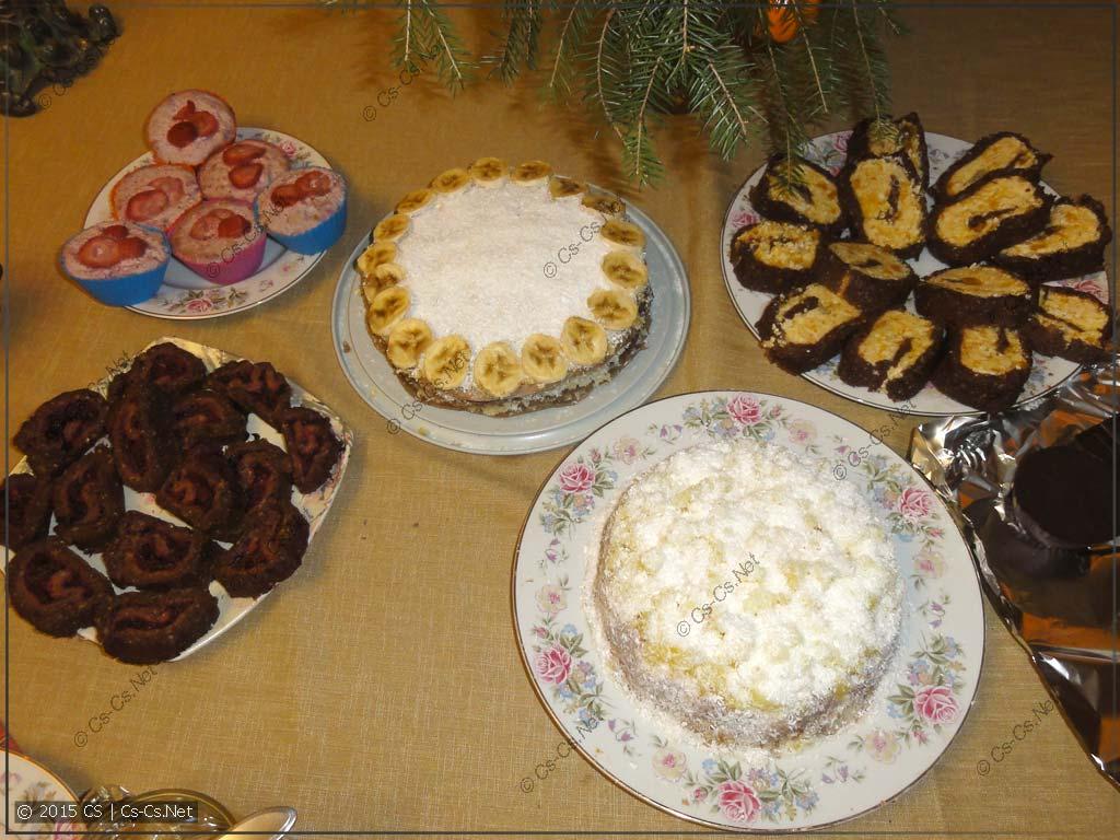 Сыроедные тортики