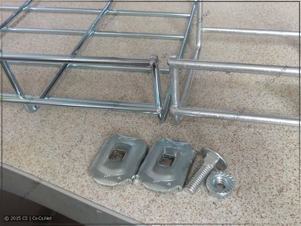 Пластины для соединения лотков X1