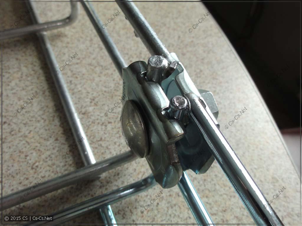 Соединение лотков встык при помощи X1