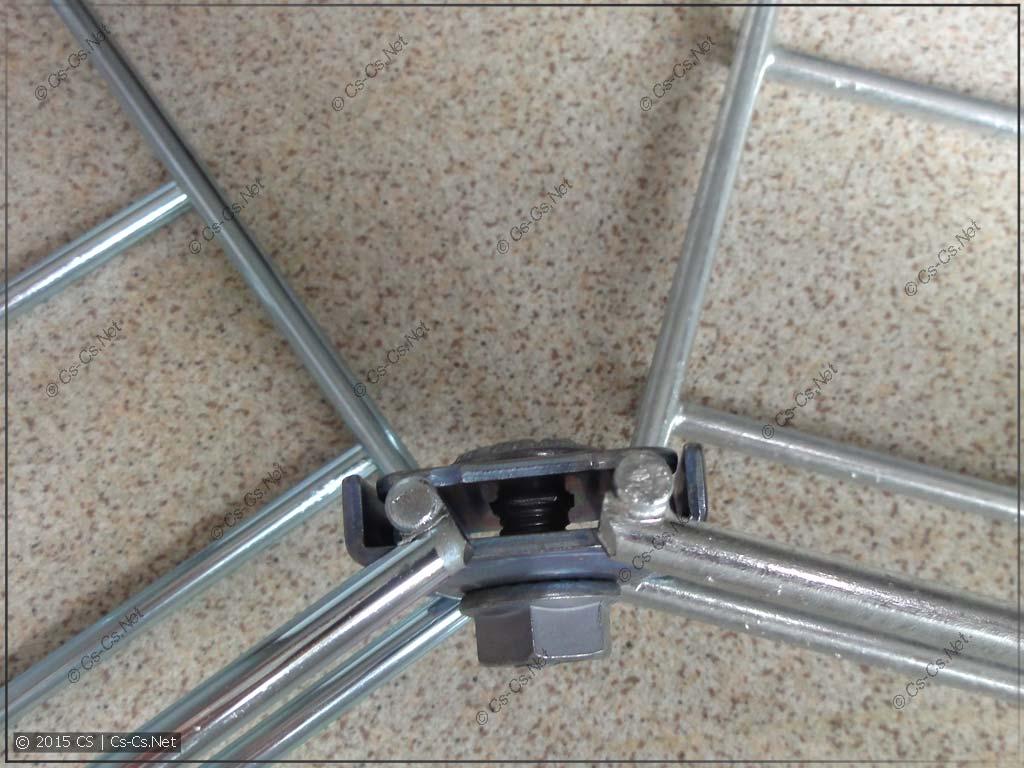 Комплект для крепления X2 - соединение лотков под углом и радиусом