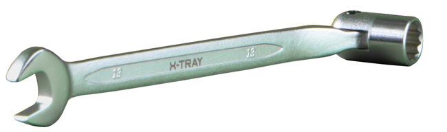 Ключ X76 для работы с лотками
