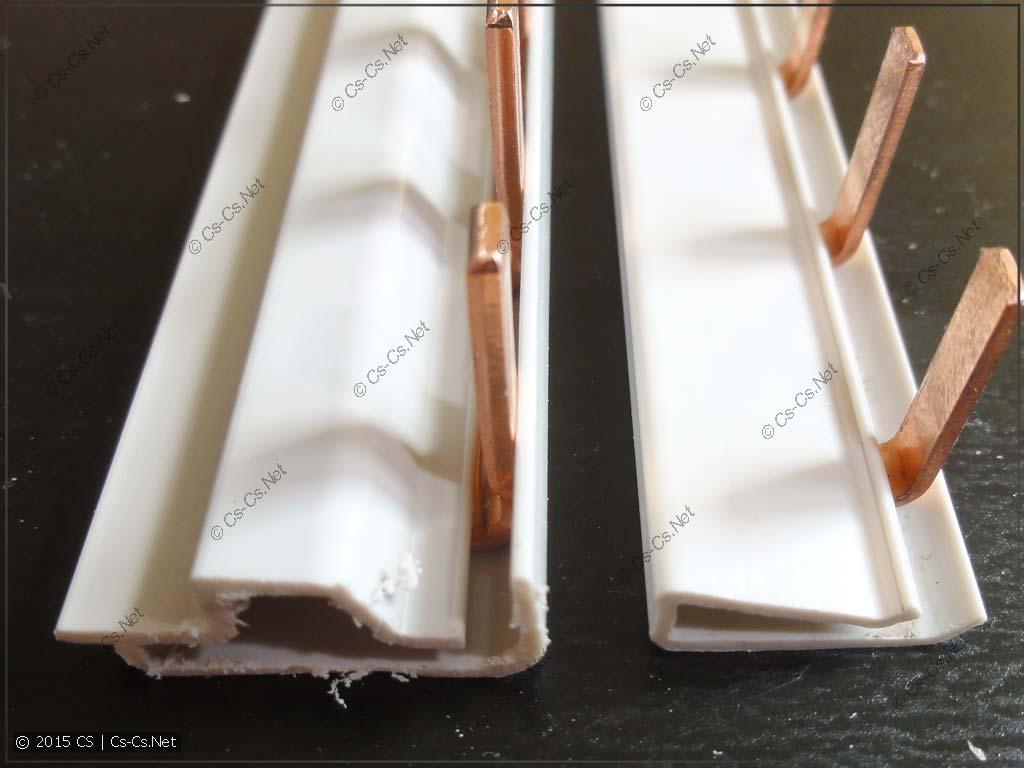 Гребёнки (соединительные шинки) PS1 и PSH1