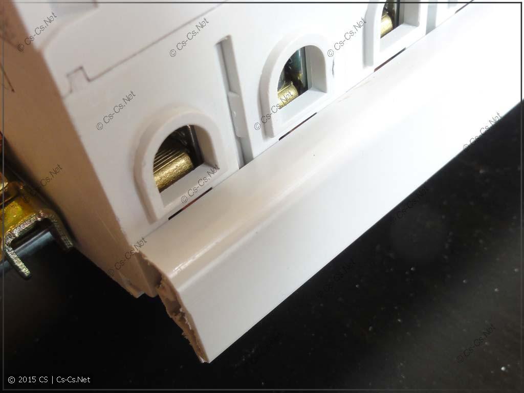 Установка гребёнки (шинки) PS1 в автомат S200