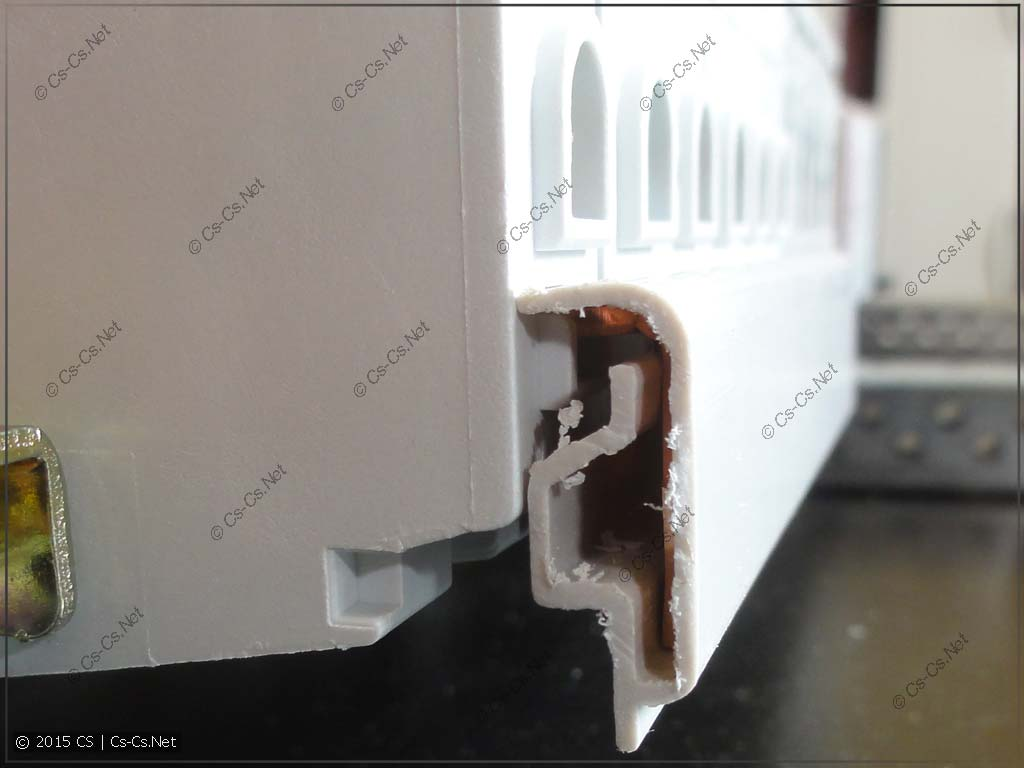 Гребёнка PS1, вид сбоку