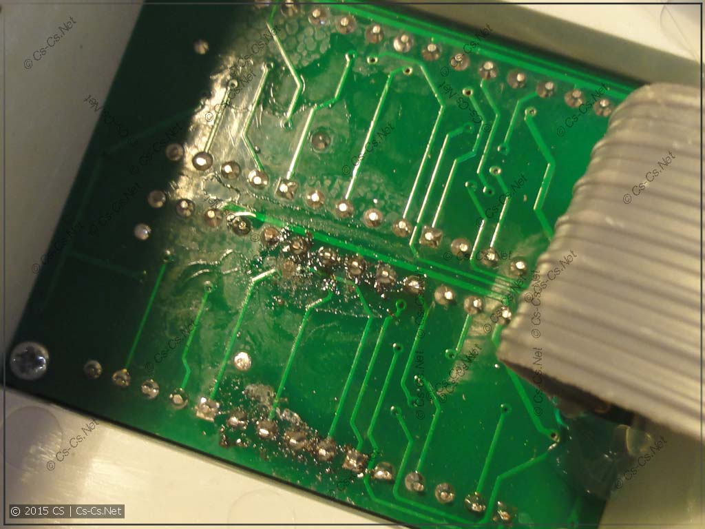 Дибильная пайка вольт-амперметра Меандр ВАР-М01