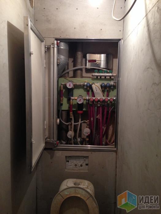 Исходный ремонт сантехники, сделанный идиотами