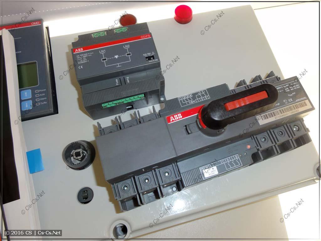 Рубильники ABB OTM (с моторным приводом и блоки АВР)