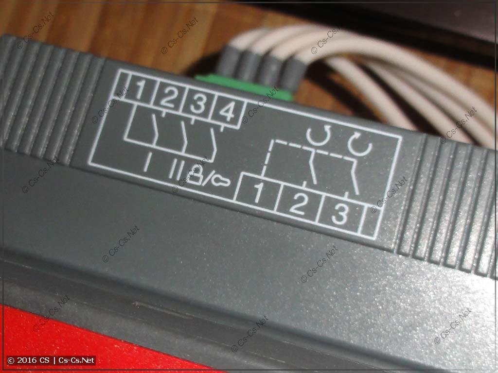 Рубильник ABB OTM (с моторным приводом) - верхние контакты состояния