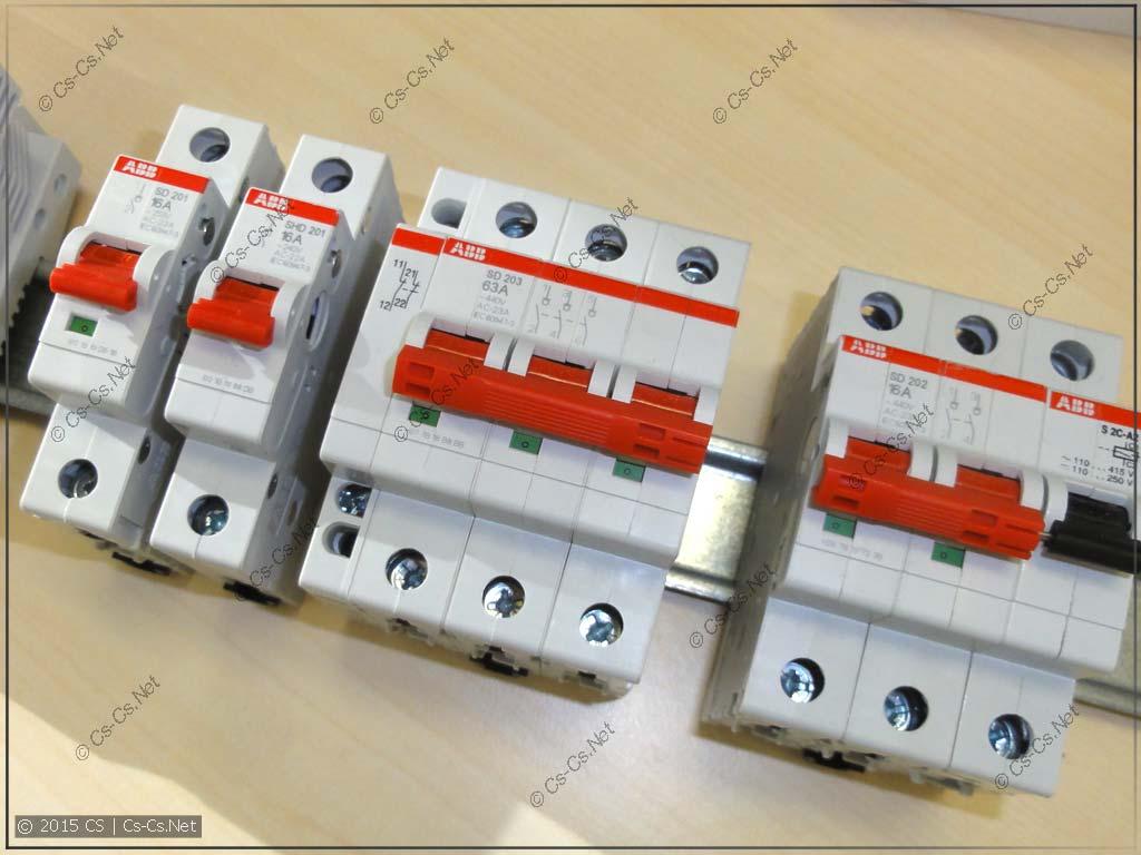 Новые рубильники SD200 (замена серии E200)