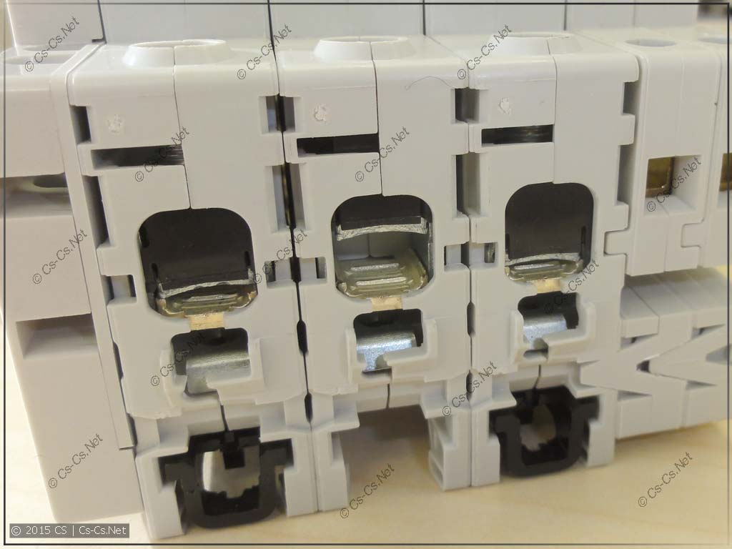 Зажимы автомата S203 C100
