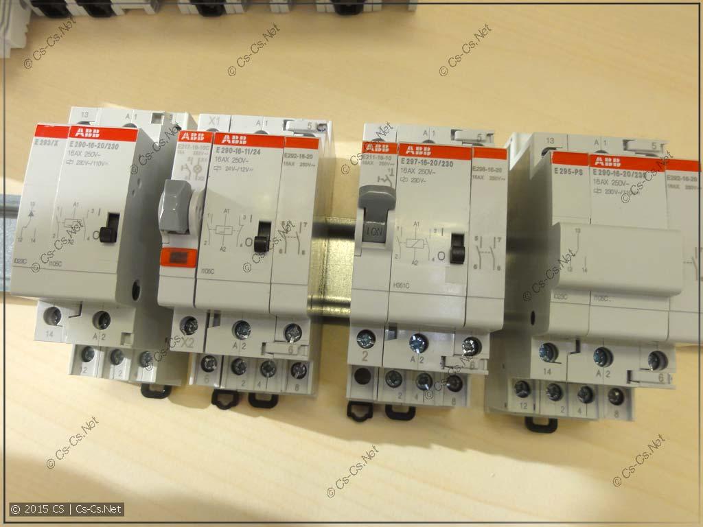 Импульсные реле ABB серии E290