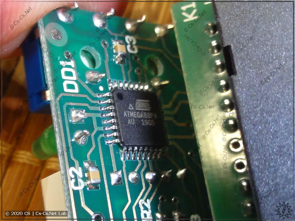 Реле РН-263t снова сделано на AtMega 8. Ну когда уже STM32 будет-то? =)