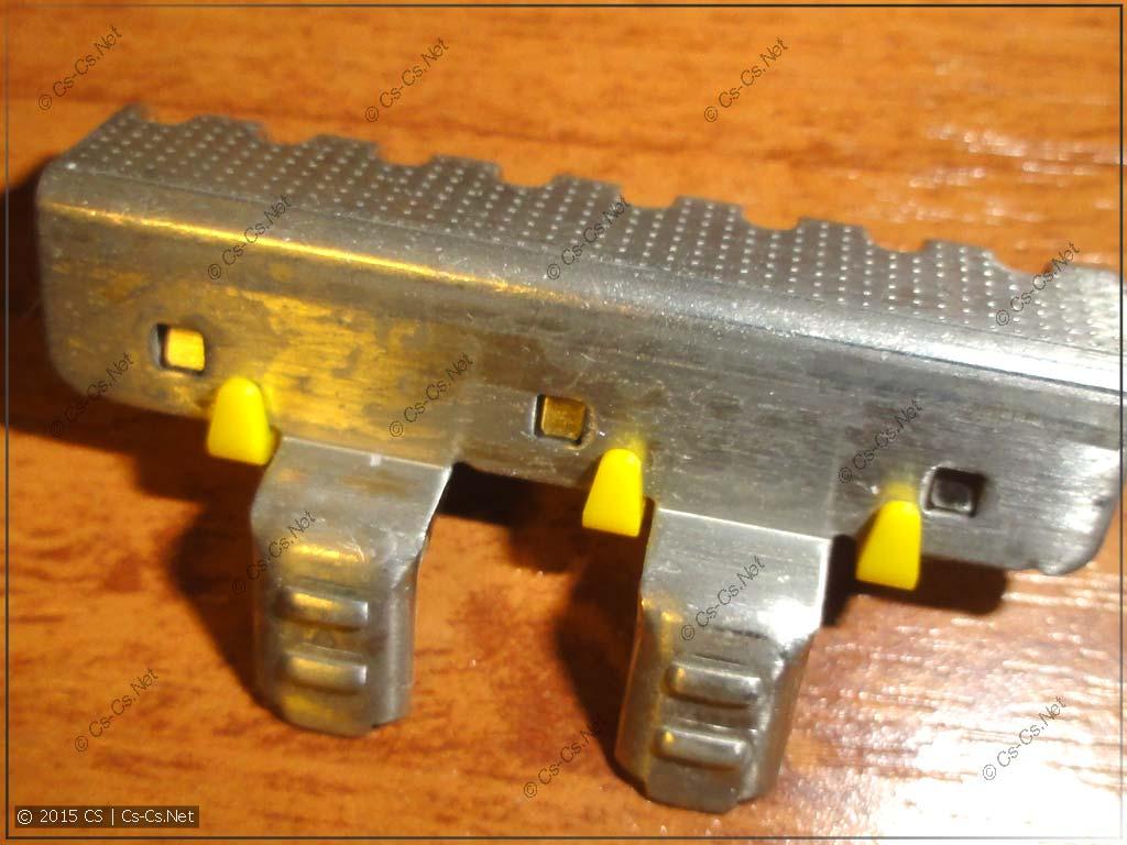 Контактная пластина пружинной шинки ABB