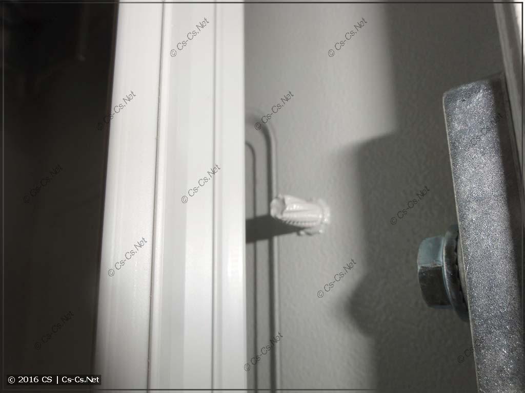 Установка защиты от прикосновения в шкаф TwinLine