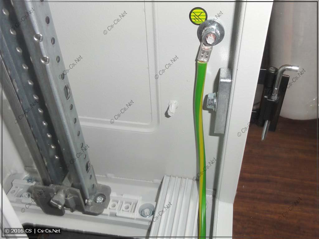 Комплект для заземления двери ZL8 шкафов TwinLine