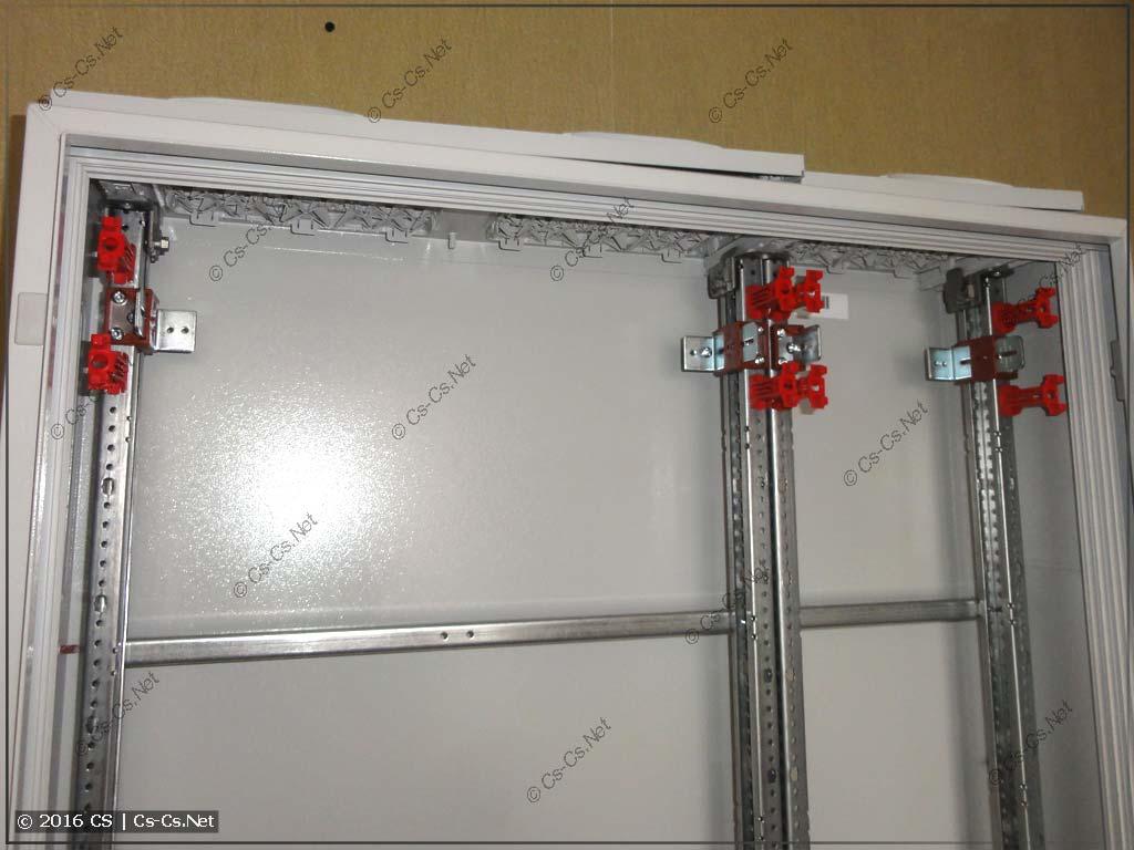 Устанавливаем регуляторы глубины ZW на WR-профиль