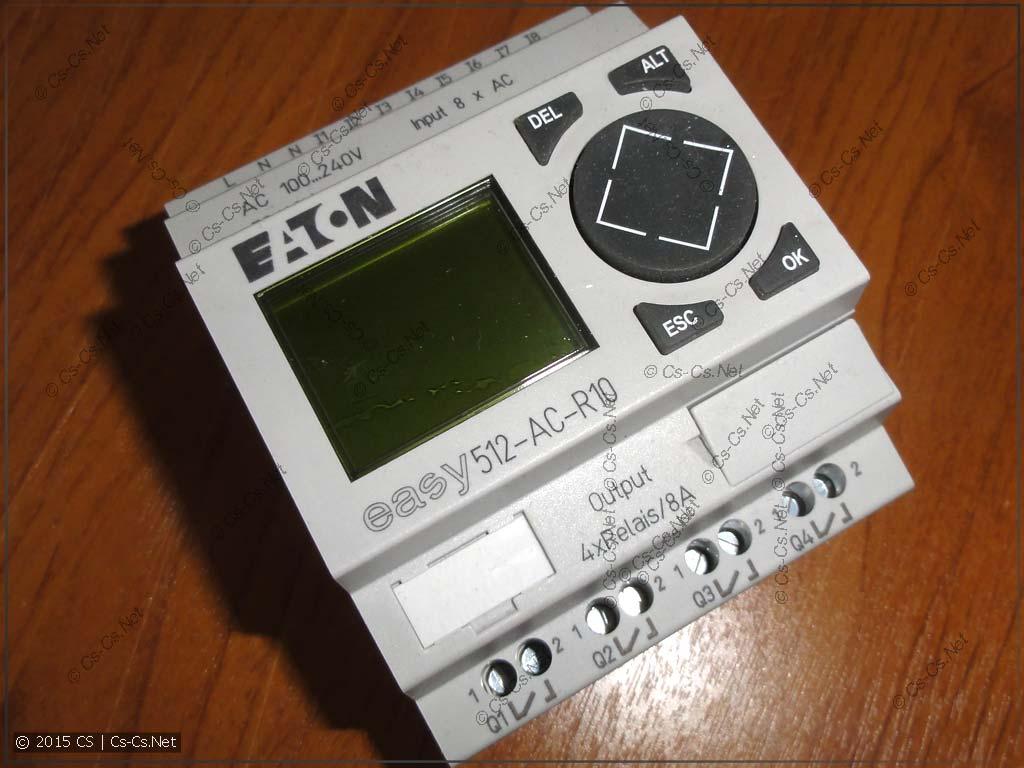 Логическое реле EATON EASY512-AC-R10