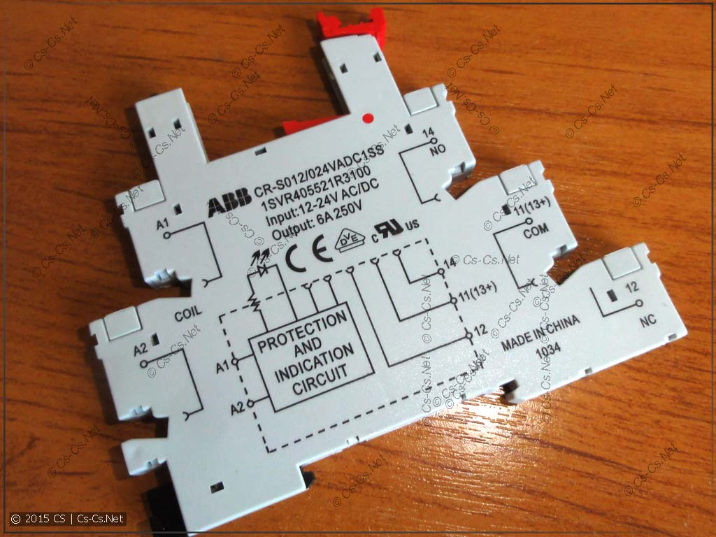 Колодка для реле серии CR-S