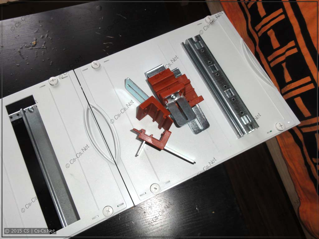 Необходимо заменить обычный пластрон на модуль MBK107
