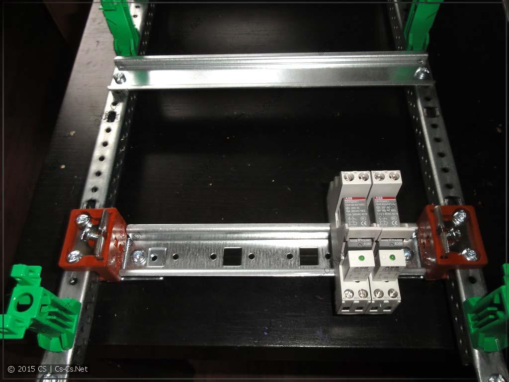 Тестируем рейку на реле CR-P