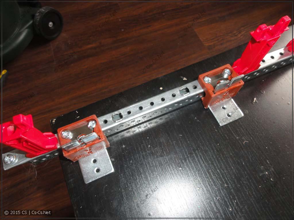 Крепление регуляторов глубины ZW для монтажной платы MBM212