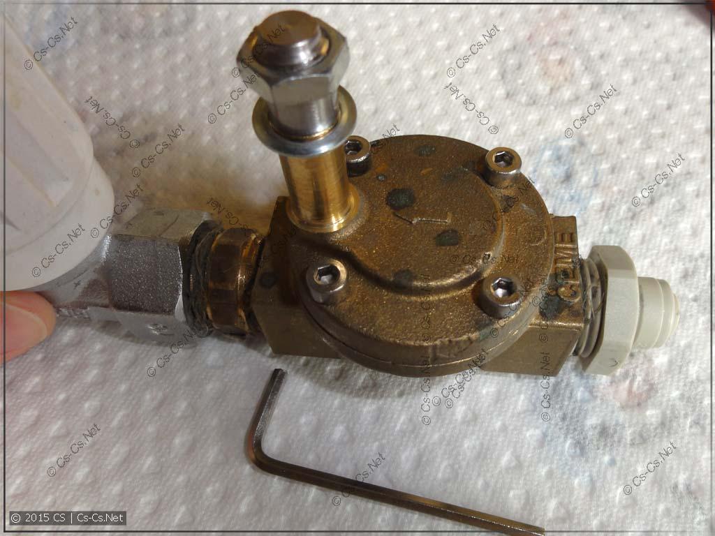 Электромагнитный клапан CEME (без катушки)