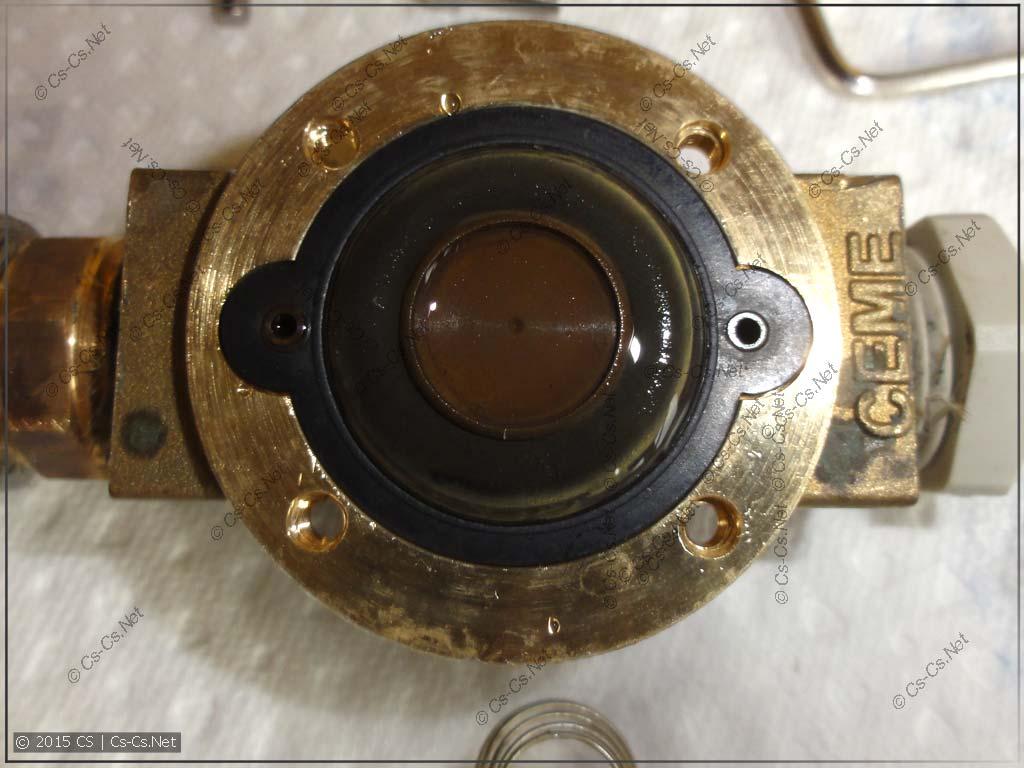Мембрана электромагнитного клапана