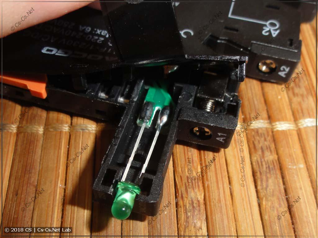 Реле типа CR-S (клон из Китая) и его устройство