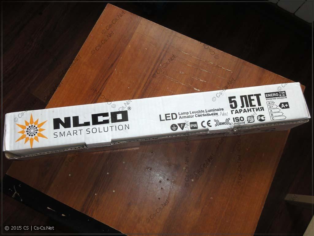 Упаковка светильника ISK18-01-C-02