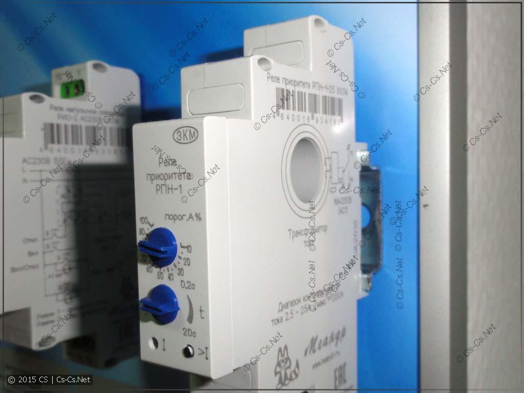 Идиотское расположение датчика тока на реле компании Меандр