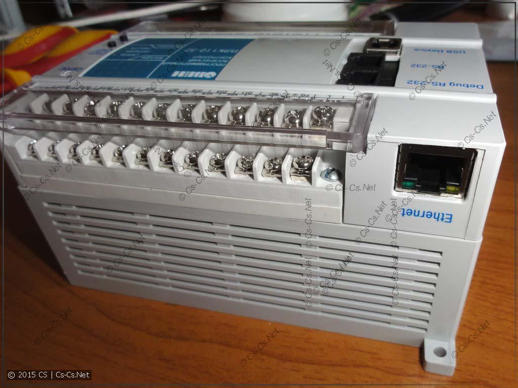 Клеммные блоки для подключения сигналов к контроллеру