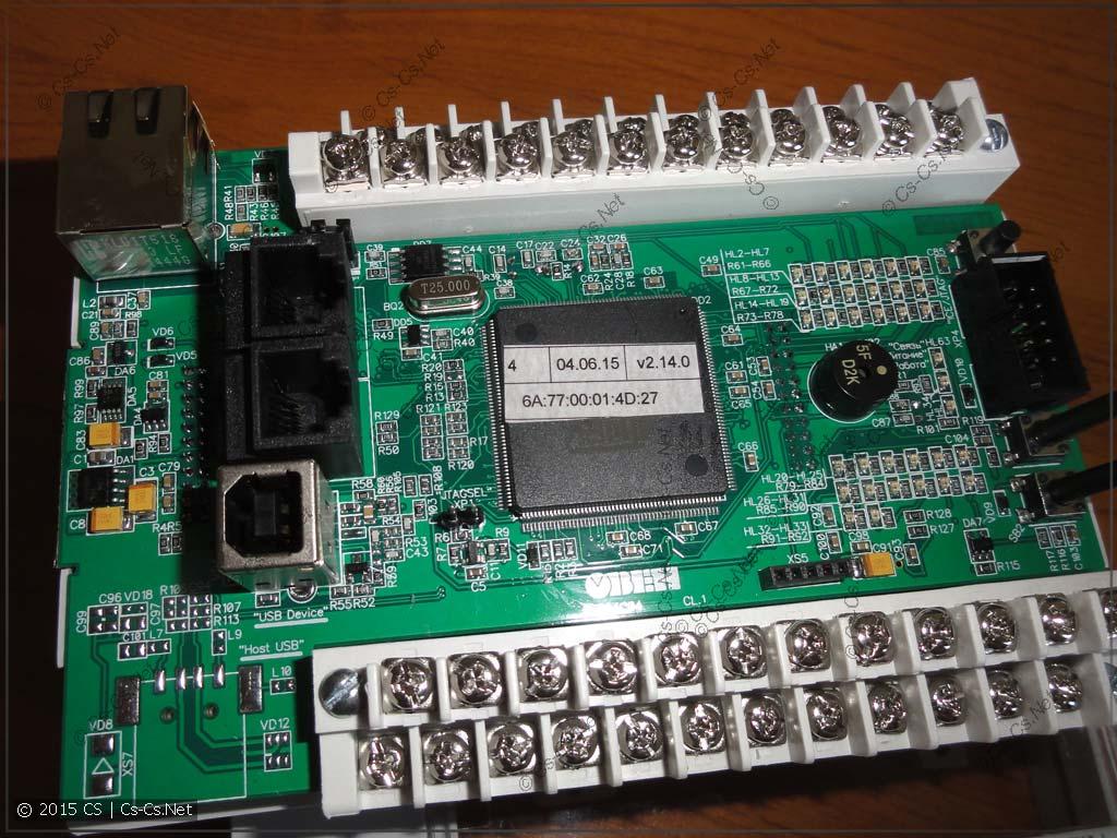 Основная плата контроллера с CPU